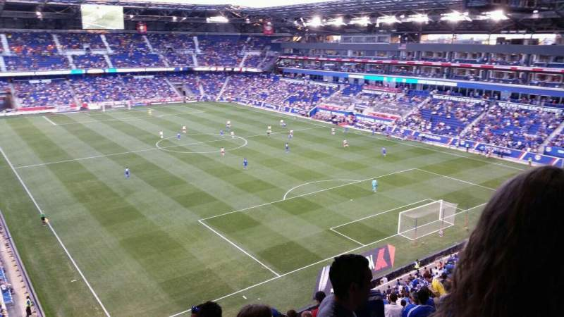 Seating view for Red Bull Arena Section 221