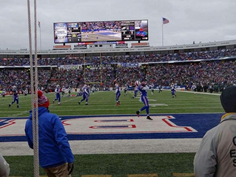 New Era Field, section: 121, row: 2, seat: 4