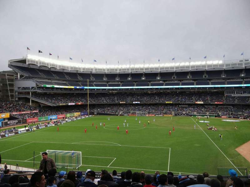 Seating view for Yankee Stadium Section 233B Row 10 Seat 8