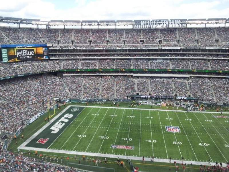 Seating view for MetLife Stadium Section 339 Row 5 Seat 18