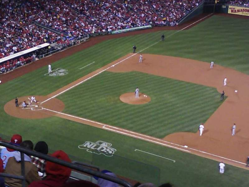 Seating view for Citizens Bank Park Section 412