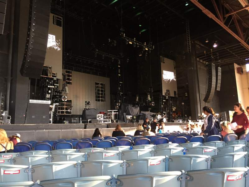 Seating view for Dos Equis Pavilion Section 102 Row N Seat 16