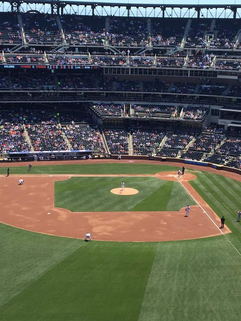 Seating view for Citi Field Section 536 Row 7 Seat 1