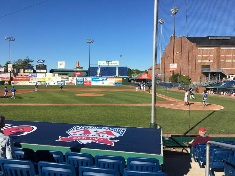 Seating view for Hadlock Field Section 110 Row K Seat 5