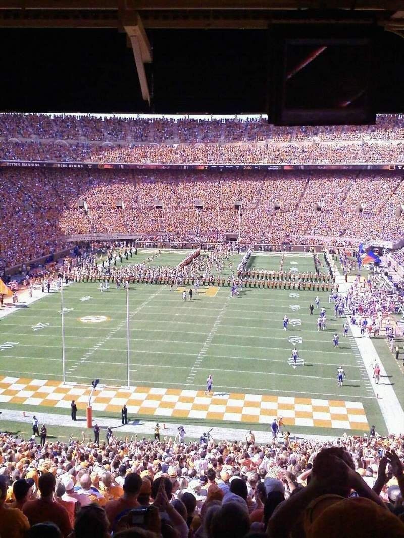 Seating view for Neyland Stadium Section K Row 60ish