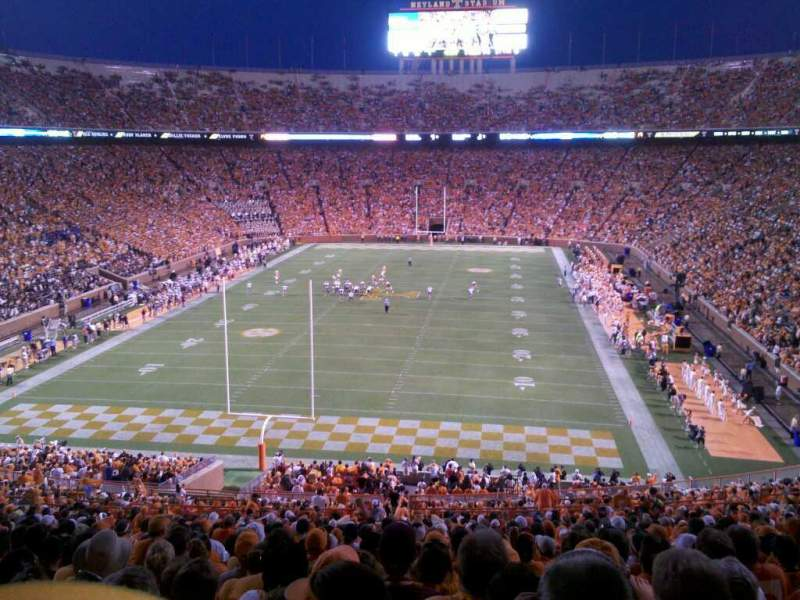 Seating view for Neyland Stadium Section y7 Row 49 Seat 17