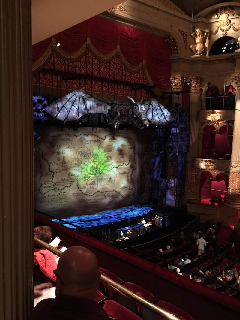Seating view for Academy of Music Section Balcony H Row B Seat 57