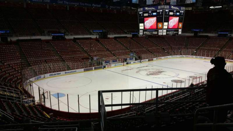 Seating view for Joe Louis Arena Section 212A Row 5 Seat 1