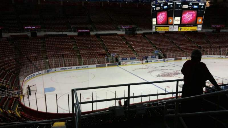 Seating view for Joe Louis Arena Section 211A Row 5 Seat 1