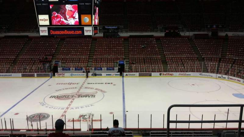 Seating view for Joe Louis Arena Section 207 Row 5 Seat 2