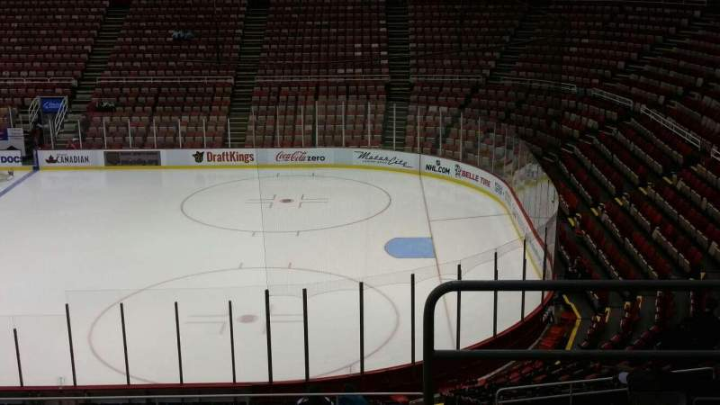 Seating view for Joe Louis Arena Section 205 Row 5 Seat 1