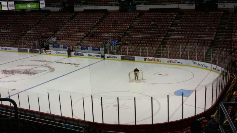 Seating view for Joe Louis Arena Section 204A Row 5 Seat 2
