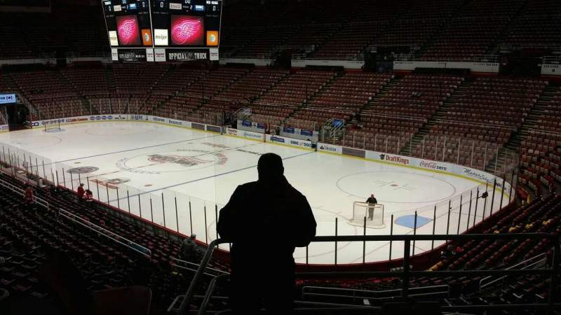Seating view for Joe Louis Arena Section 203C Row 5 Seat 19