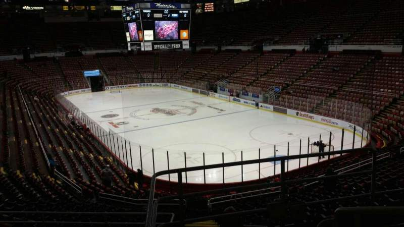 Seating view for Joe Louis Arena Section 203A Row 5 Seat 3