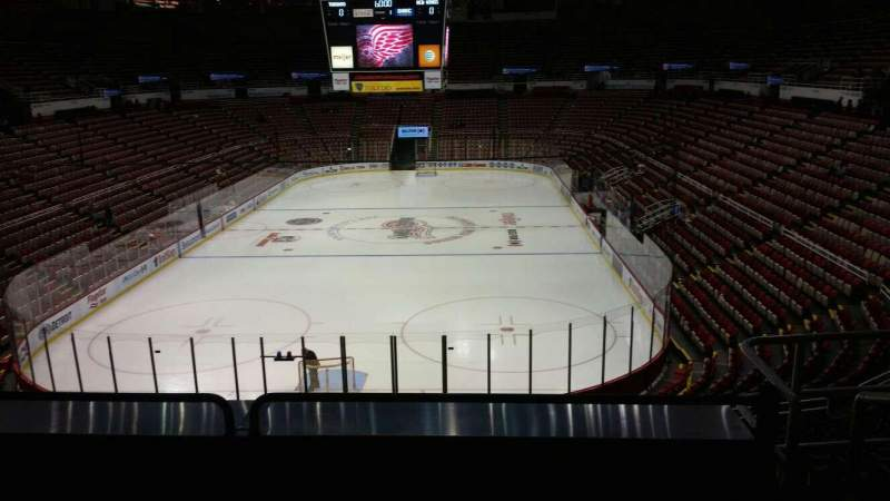 Seating view for Joe Louis Arena Section 228 Row 5 Seat 6