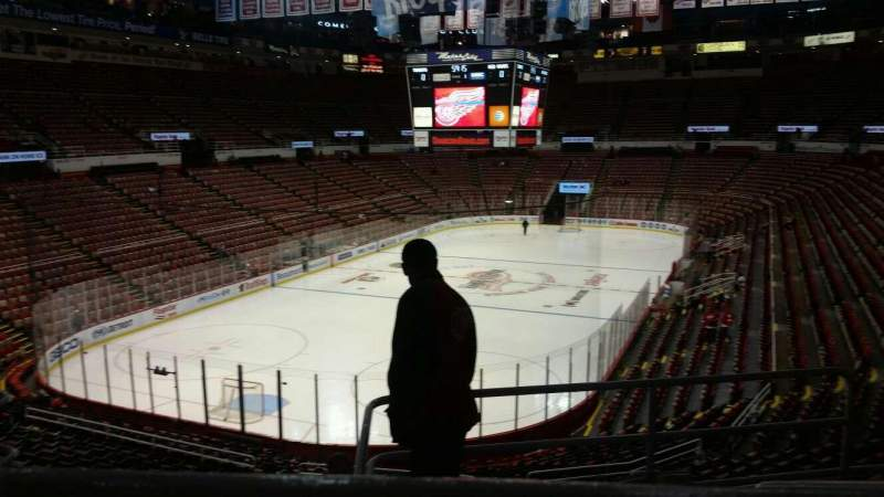 Seating view for Joe Louis Arena Section 227A Row 5 Seat 3