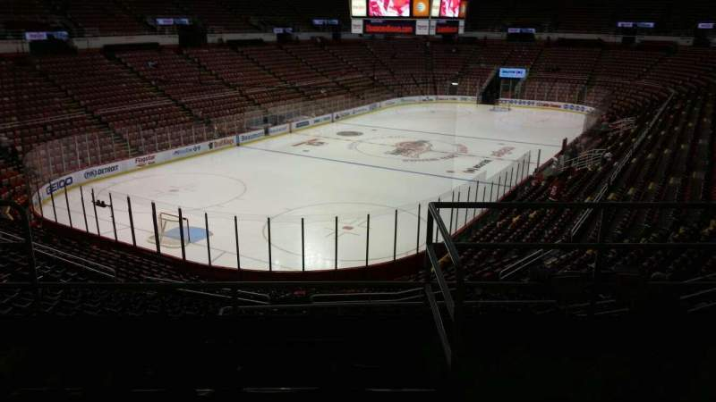 Seating view for Joe Louis Arena Section 226C Row 5 Seat 12