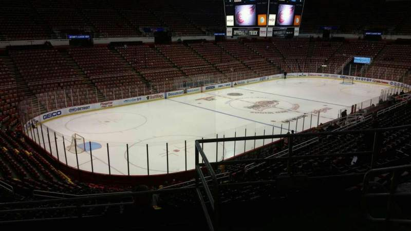 Seating view for Joe Louis Arena Section 226A Row 5 Seat 2