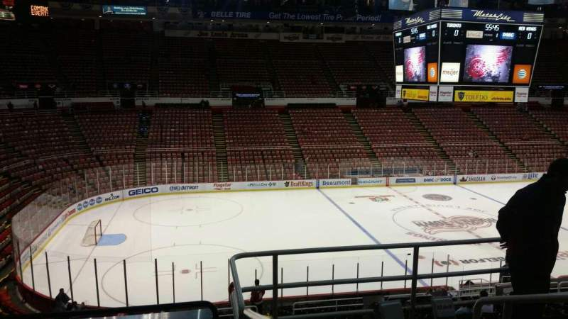 Seating view for Joe Louis Arena Section 224 Row 5 Seat 4