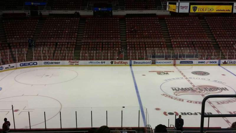 Seating view for Joe Louis Arena Section 223 Row 5 Seat 3