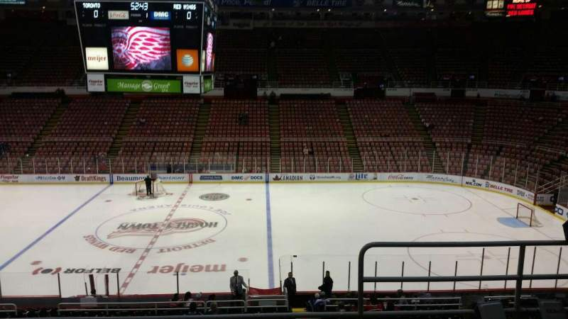 Seating view for Joe Louis Arena Section 221 Row 5 Seat 2