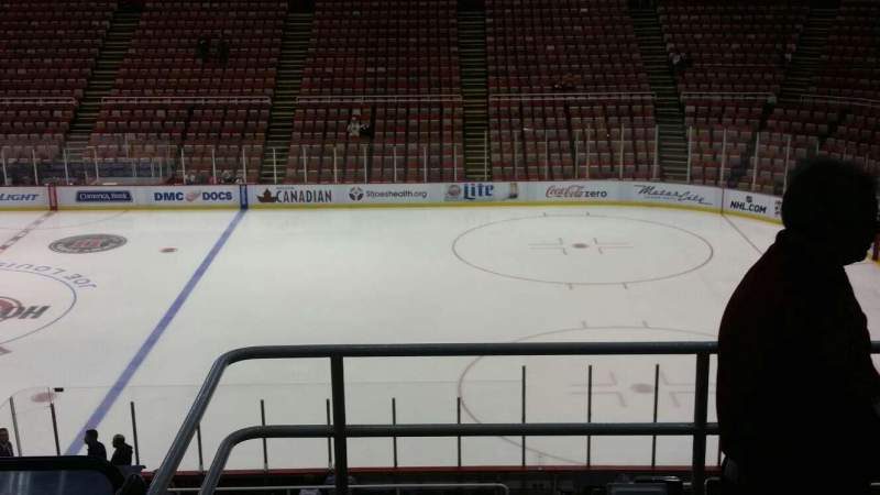 Seating view for Joe Louis Arena Section 220 Row 5 Seat 2