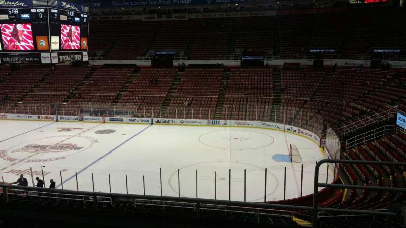 Seating view for Joe Louis Arena Section 219 Row 5 Seat 2