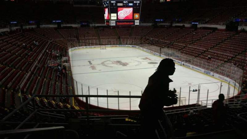 Seating view for Joe Louis Arena Section 216A Row 5 Seat 10