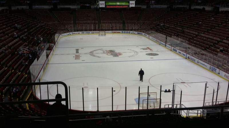 Seating view for Joe Louis Arena Section 215 Row 5 Seat 14