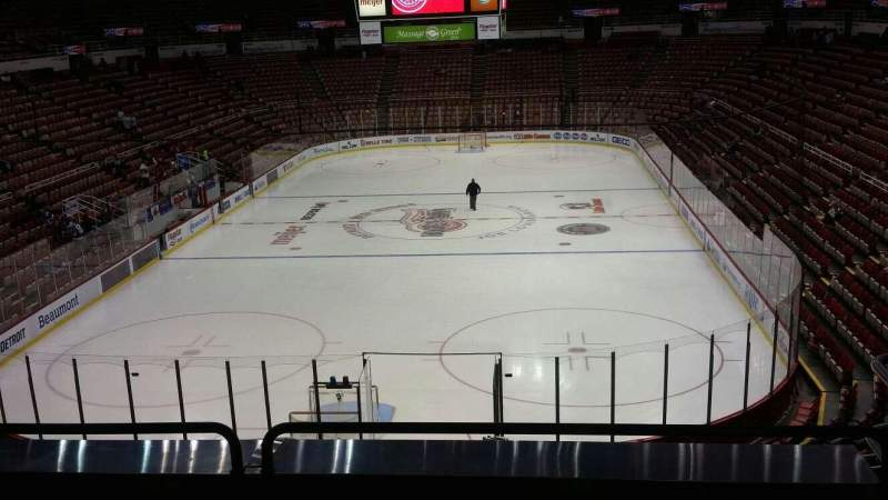 Seating view for Joe Louis Arena Section 214 Row 5 Seat 6