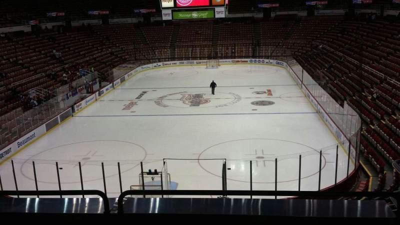 Joe Louis Arena, section: 214, row: 5, seat: 6