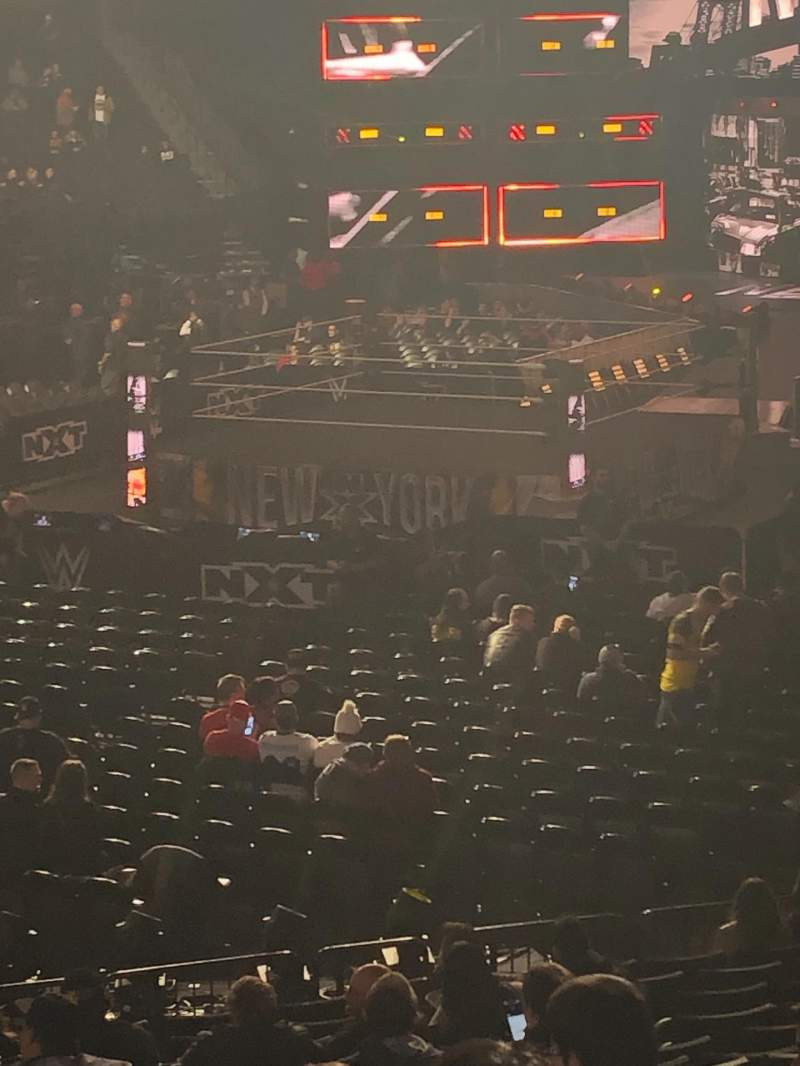 Seating view for Barclays Center Section 13 Row 18 Seat 16