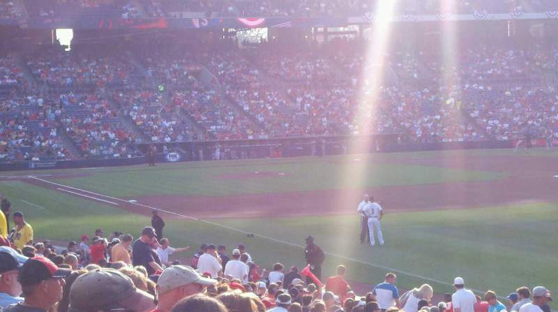 Seating view for Turner Field Section 225 Row 23 Seat 4
