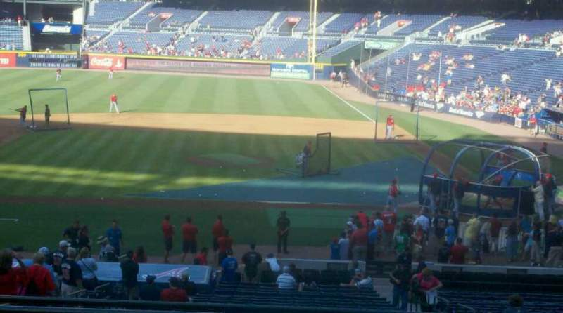 Seating view for Turner Field Section 205 Row 3 Seat 5