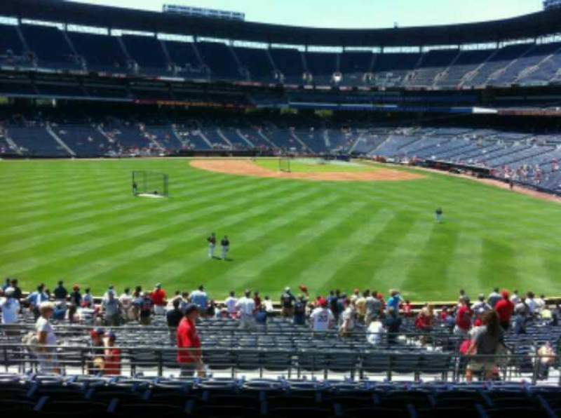 Seating view for Turner Field Section 246 Row 9 Seat 11
