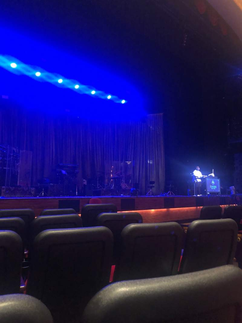 Seating view for Fox Theater at Foxwoods Section Orchestra Row E Seat 7