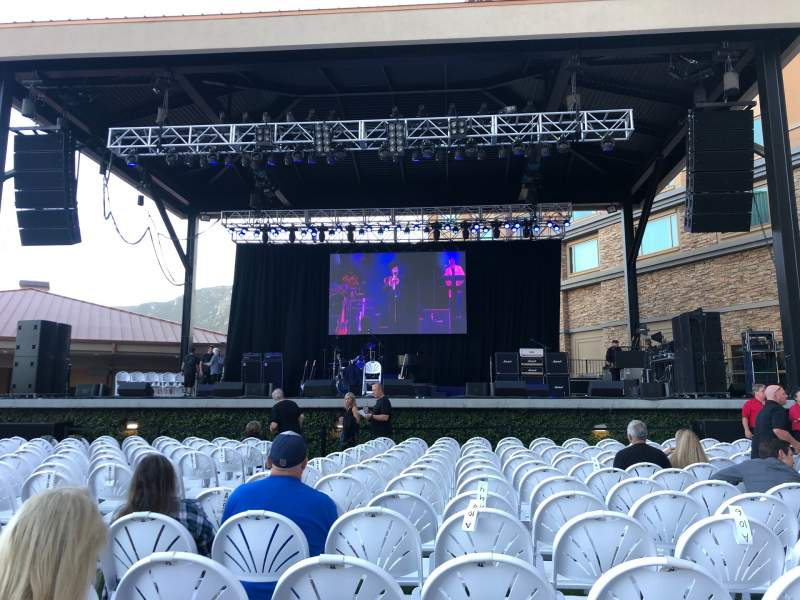 Seating view for Starlight Theater at the Pala Casino Section A Row 14 Seat 3