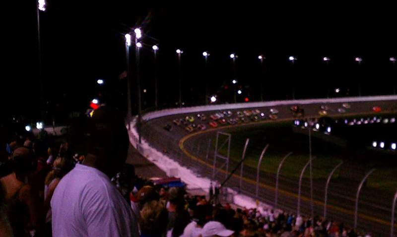 Seating view for Daytona International Speedway