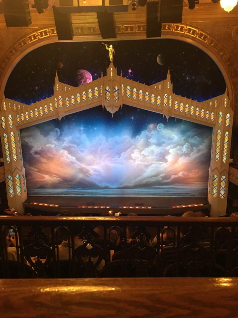 Seating view for Eugene O'Neill Theatre Section Mezzanine R Row E Seat 104 & 106
