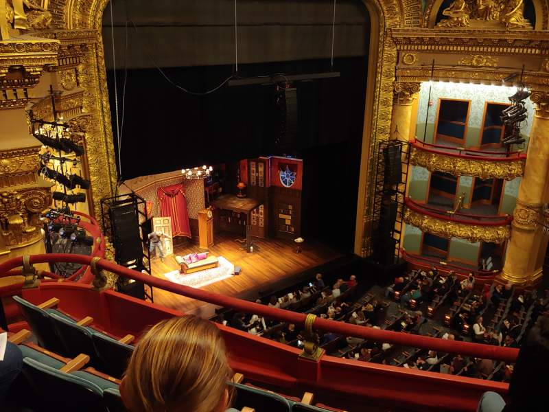 Seating view for Emerson Colonial Theatre Section Balcony Row D Seat 25