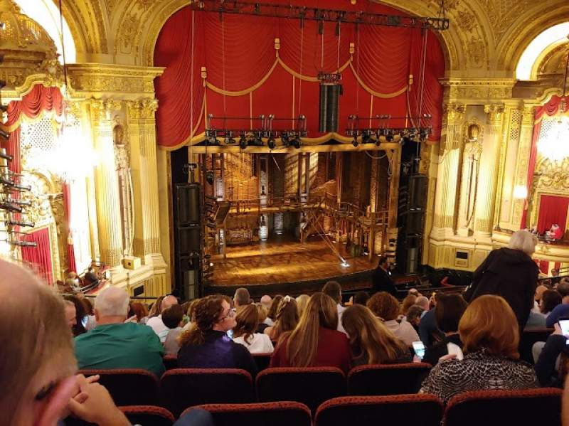 Seating view for Citizens Bank Opera House Section Mezzanine Left Row K Seat 9