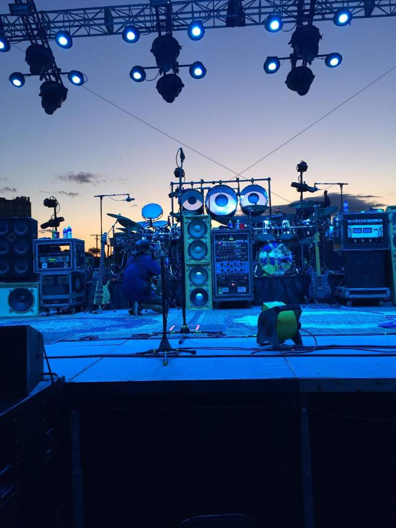 Seating view for Stone Pony Summerstage Section GA Row GA Seat Rail
