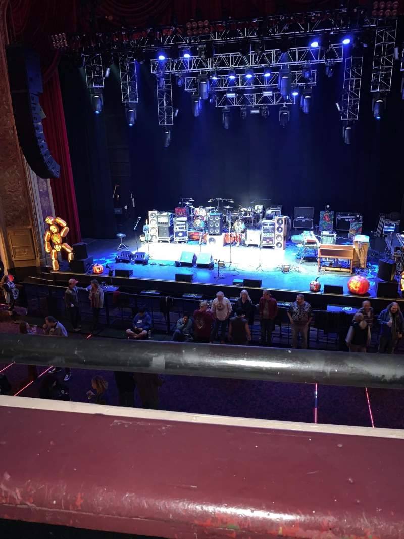 Seating view for Capitol Theatre (Port Chester) Section Loge Row AA Seat 119