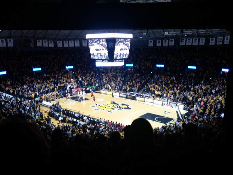 Charles Koch Arena, section: 118, row: 34