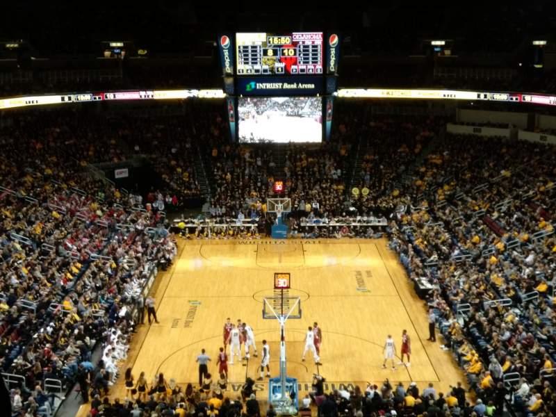 Intrust Bank Arena, section: 209, row: k