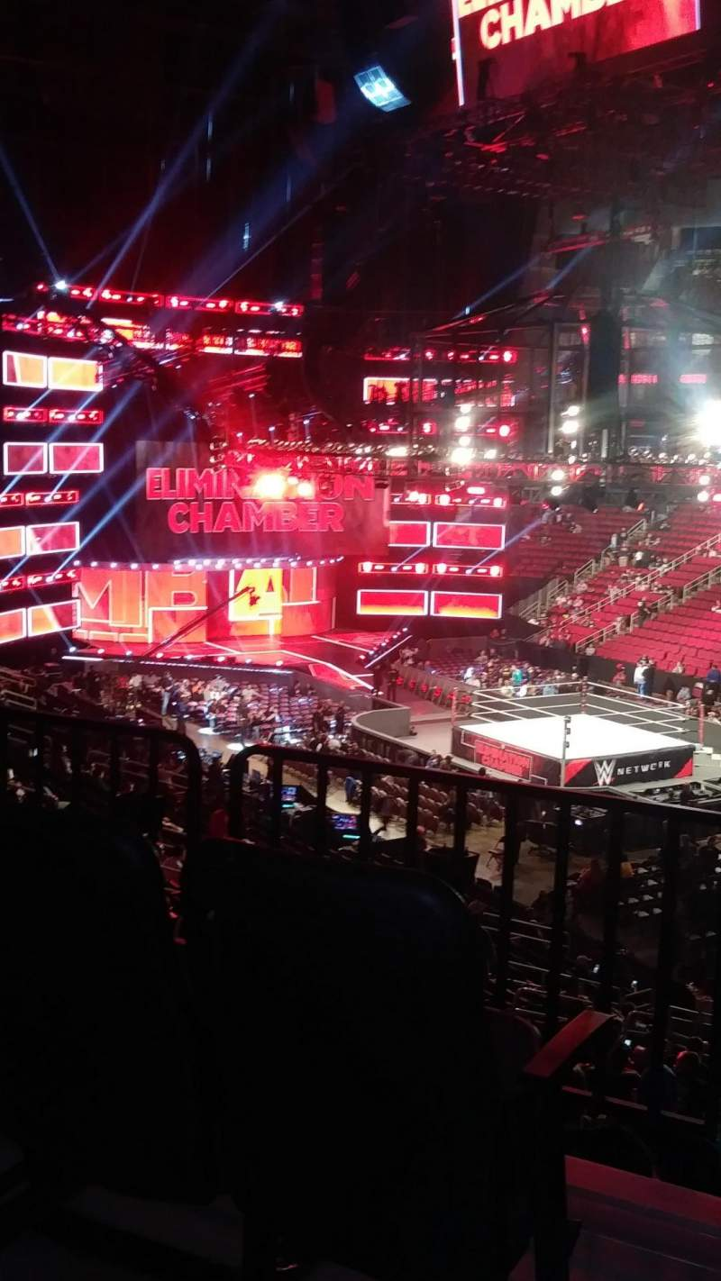 Seating view for Toyota Center Section 116 Row 24 Seat 26,27