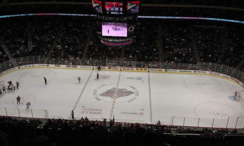 Seating view for Xcel Energy Center Section 218 Row 10 Seat 18