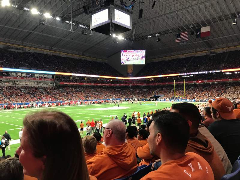 Seating view for Alamodome Section 138 Row 11 Seat 13