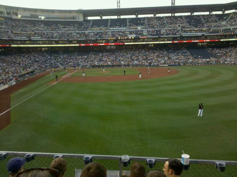 Seating view for PNC Park Section 143 Row 4 Seat 1