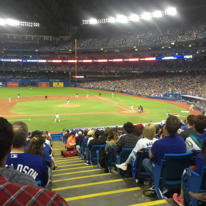 Seating view for Rogers Centre Section 126L Row 39 Seat 101